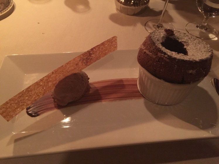 Hawaiian Kona Chocolate Souffle