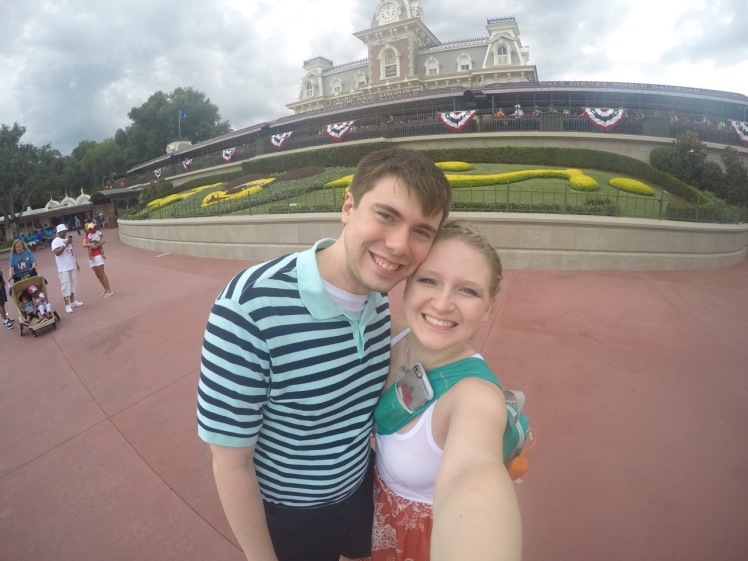 And for good measure, our first Disney park selfie on our Honeymoon!